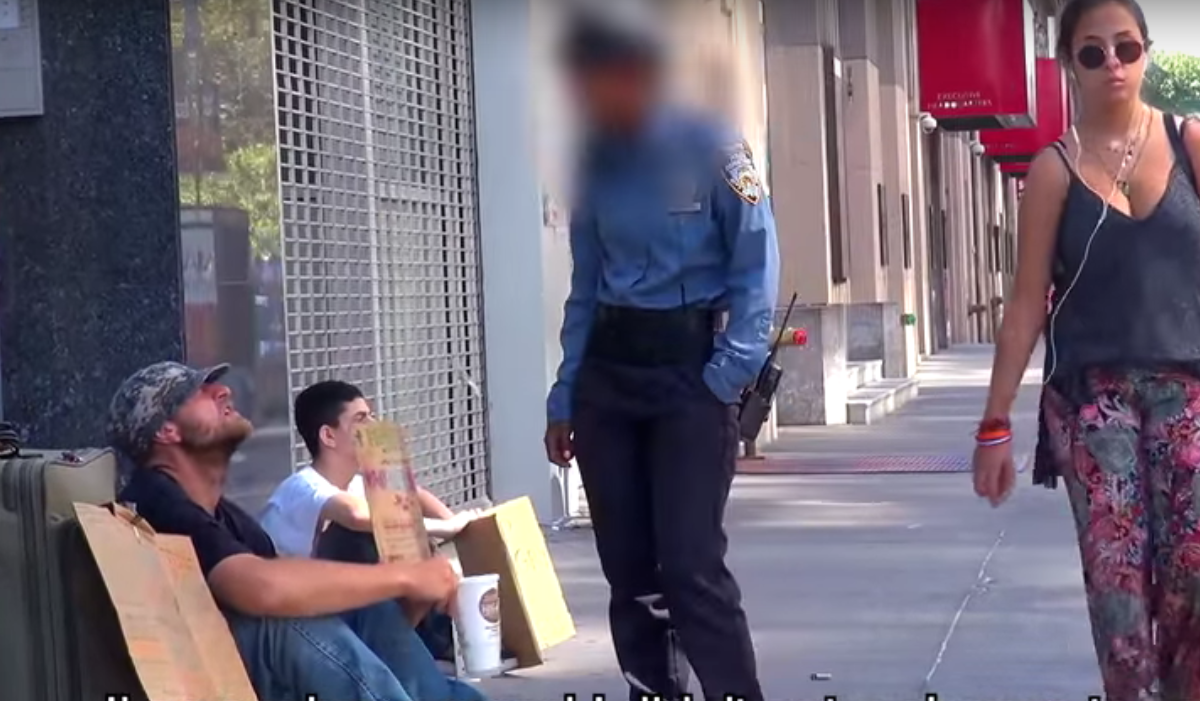 UNILADs Viral Video Shows Security Guard Slap Homeless War Veteran image