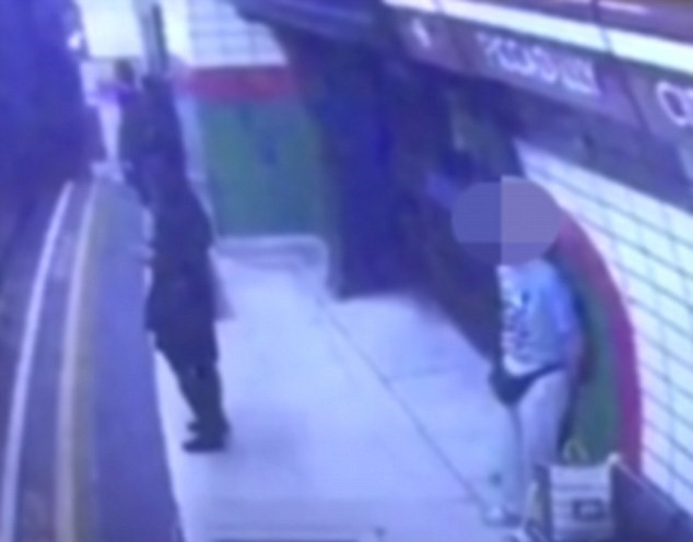 UNILAD 015369 Shocking Footage Shows Man Push Young Woman Into Oncoming Tube Train