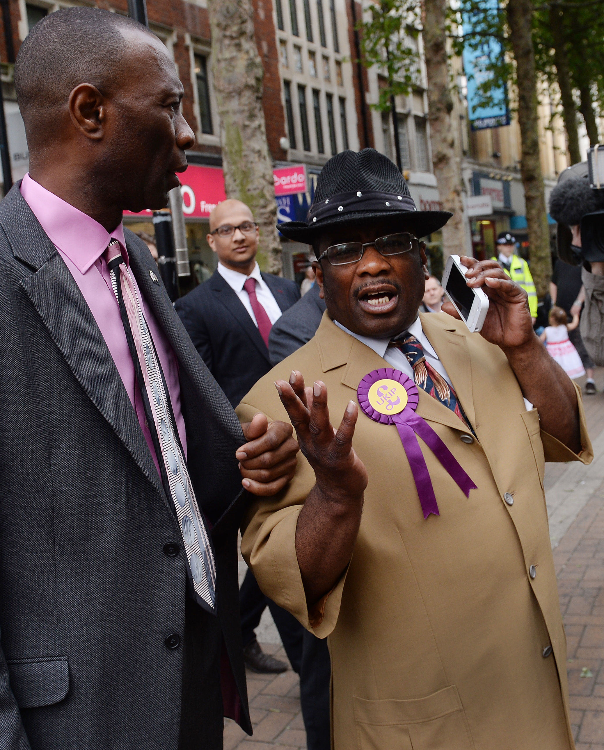 UNILAD Stefan RousseauPA Images40172 Prominent Black UKIP Member Quits Party Due To Racial Discrimination