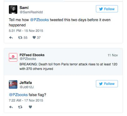 UNILAD TWEET224114 Twitter Account Tweeted About Paris Attacks Two Days Before They Happened