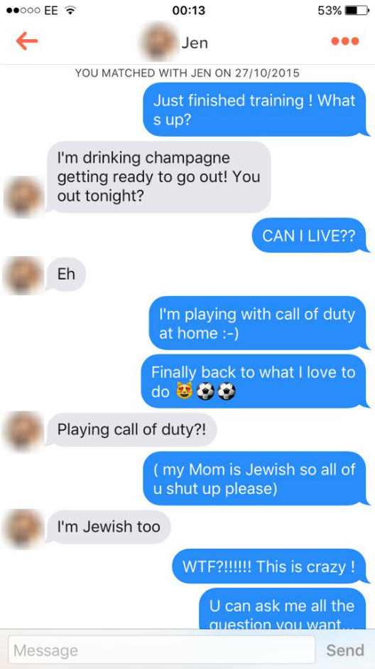 Guy Joins Tinder And Uses Only Mario Balotelli Quotes, It Goes Surprisingly Well UNILAD balotelli tinder 155469