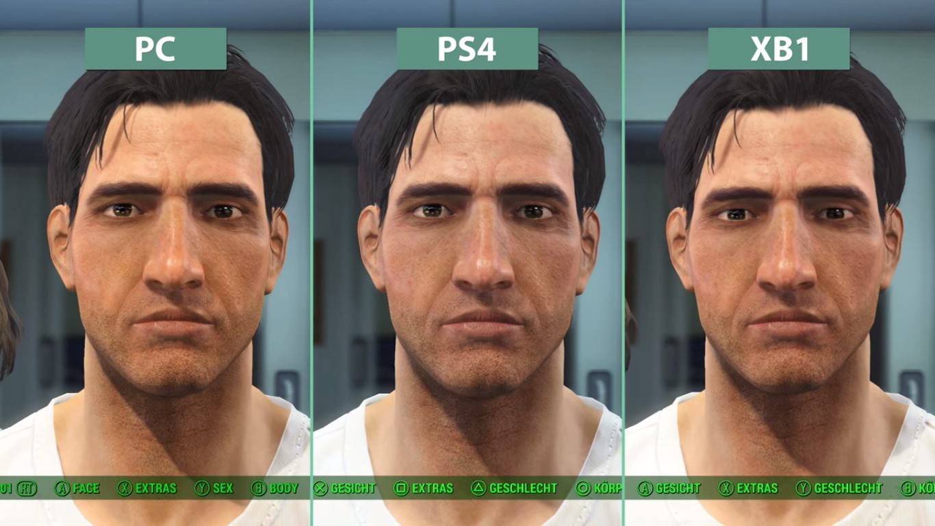 Fallout 4s Graphics Compared On PC, Playstation 4 And Xbox One UNILAD fallout96655