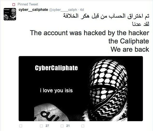 UNILAD isis hack 228137 Apparently ISIS Hacked 54,000 Twitter Accounts In Revenge For Drone Attack