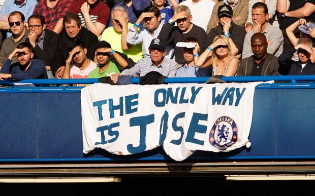 Jose Mourinho Is Chelseas Special One, And The Fans Know It UNILAD jose tele56470
