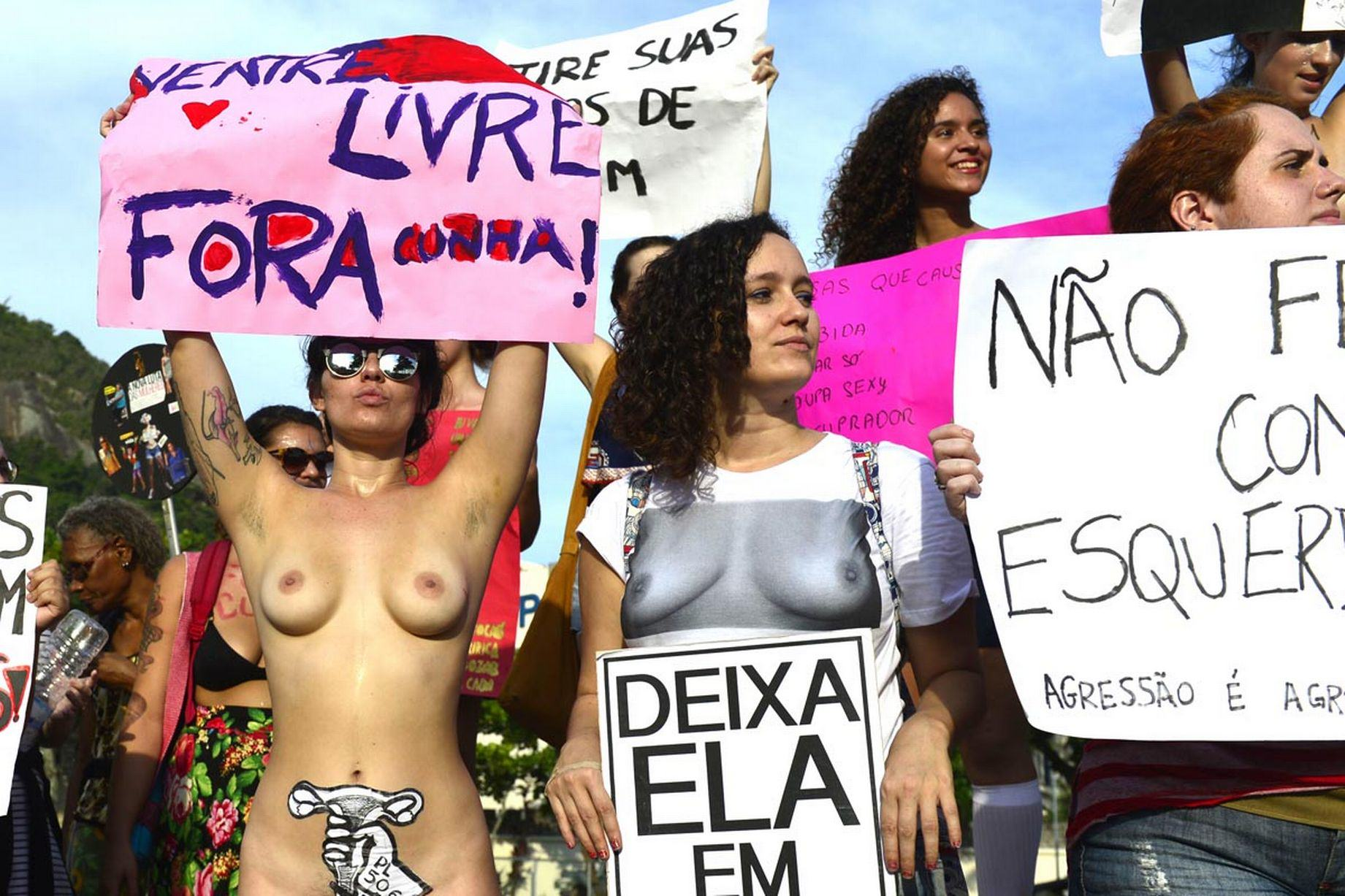 Hundreds Of Women Strip In SlutWalk Protest Against Sexual Violence UNILAD rex62388