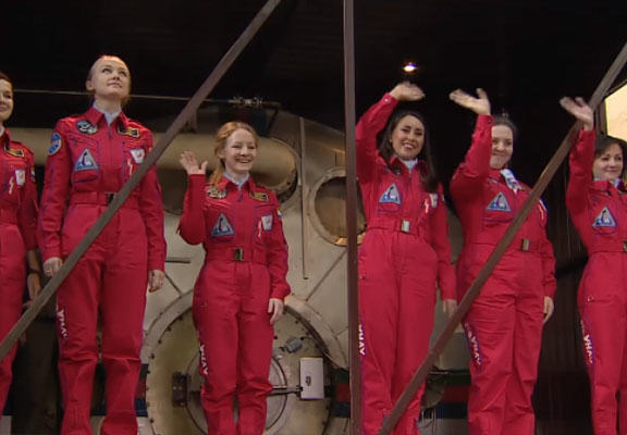 Russian Female Astronauts Asked How They Would Cope In Space Without Men