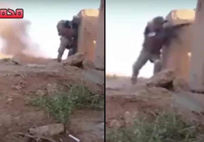 UNILAD sniper31797 Iraqi Soldiers Quick Thinking Sees Him Outsmart ISIS Sniper