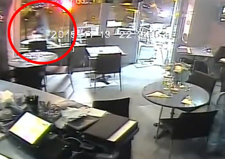 Video Shows Luckiest Woman Alive Escaping Point Blank Shooting By Paris Attacks Mastermind UNILAD womanruns4508