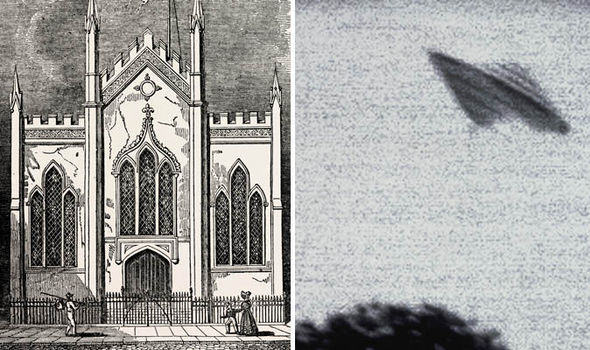 alien hull 1 UFO Spotters Claim Aliens First Visited Britain In 1801
