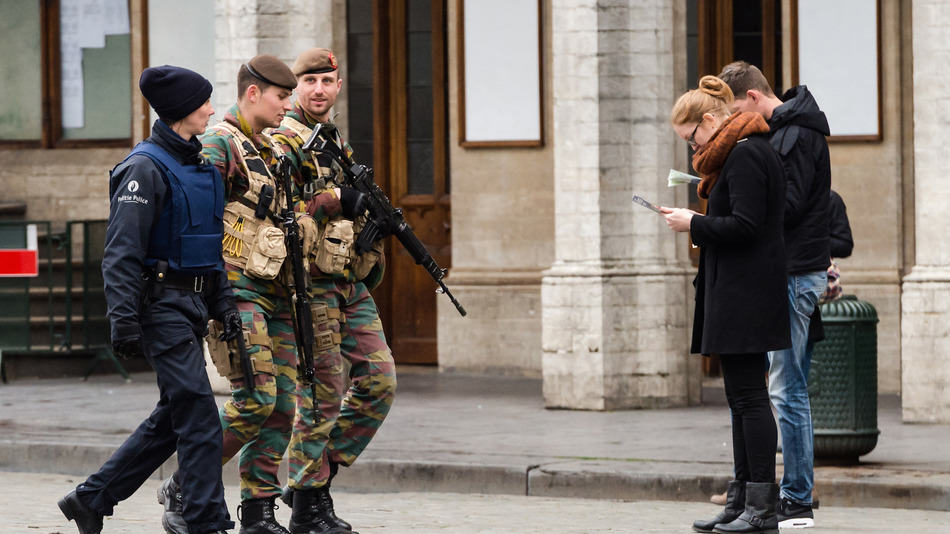 Brussels Raises Terror Alert Level After Precise Information Of Threat brussels terror 1