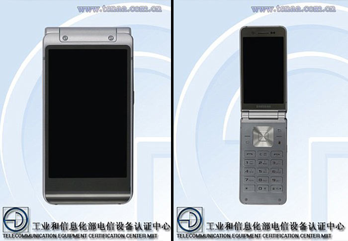 flip Leaked Images Show Samsung Are Making A Smart Flip Phone