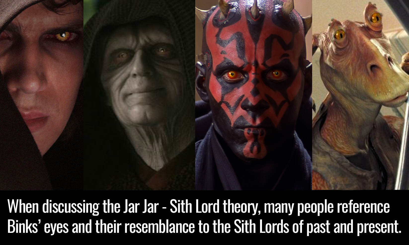 jarr This Jar Jar Binks Fan Theory Changes EVERYTHING About Star Wars