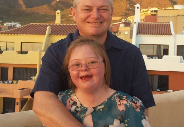 Hero Dad Gave Up High Flying Job To Spend Every Day With Sick Daughter silk51 615x426