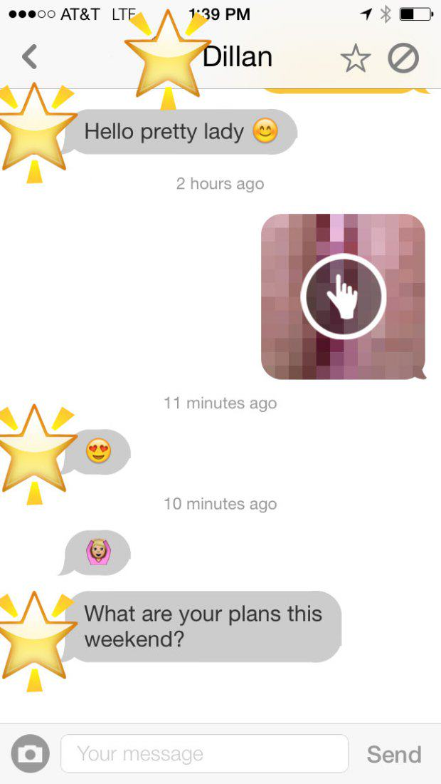 v pics 4 Woman Sends Men Unsolicited Pictures Of Her Vagina, This Is The Result