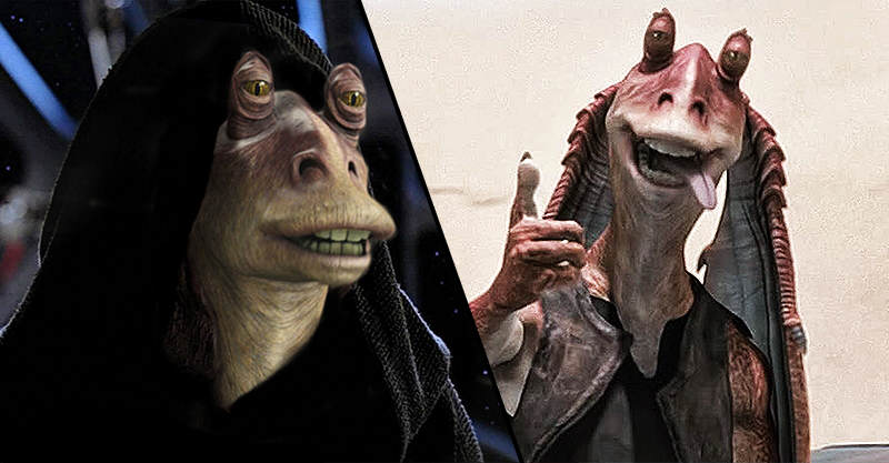 wow This Jar Jar Binks Fan Theory Changes EVERYTHING About Star Wars