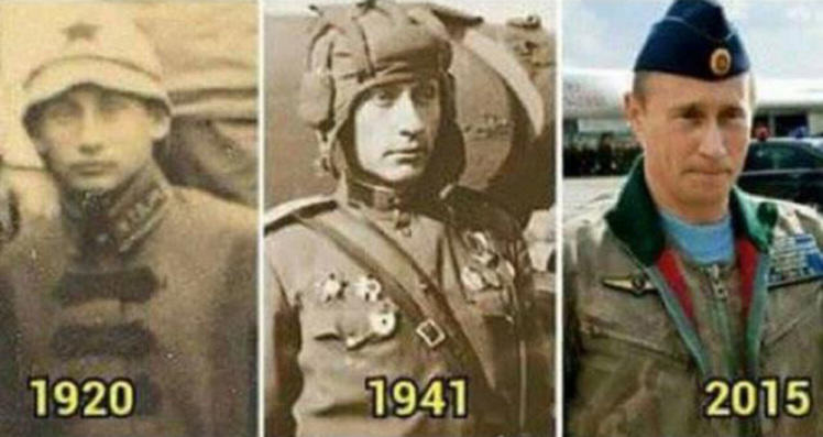 700 dbc7302449c37e9ee4fbf04d7357f7b3 1 These Pictures Show Putin Isnt The Only Immortal Famous Guy
