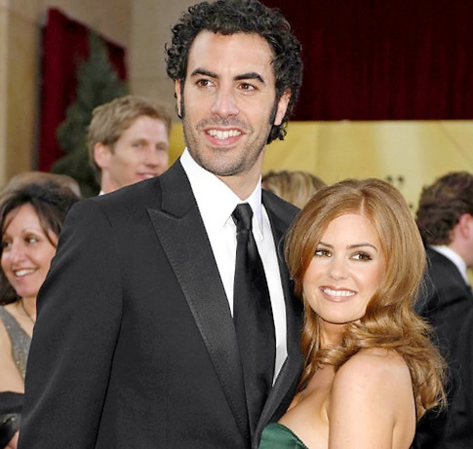 GermanaEverett Collection Sacha Baron Cohen And His Wife Have Been Very Generous This Christmas