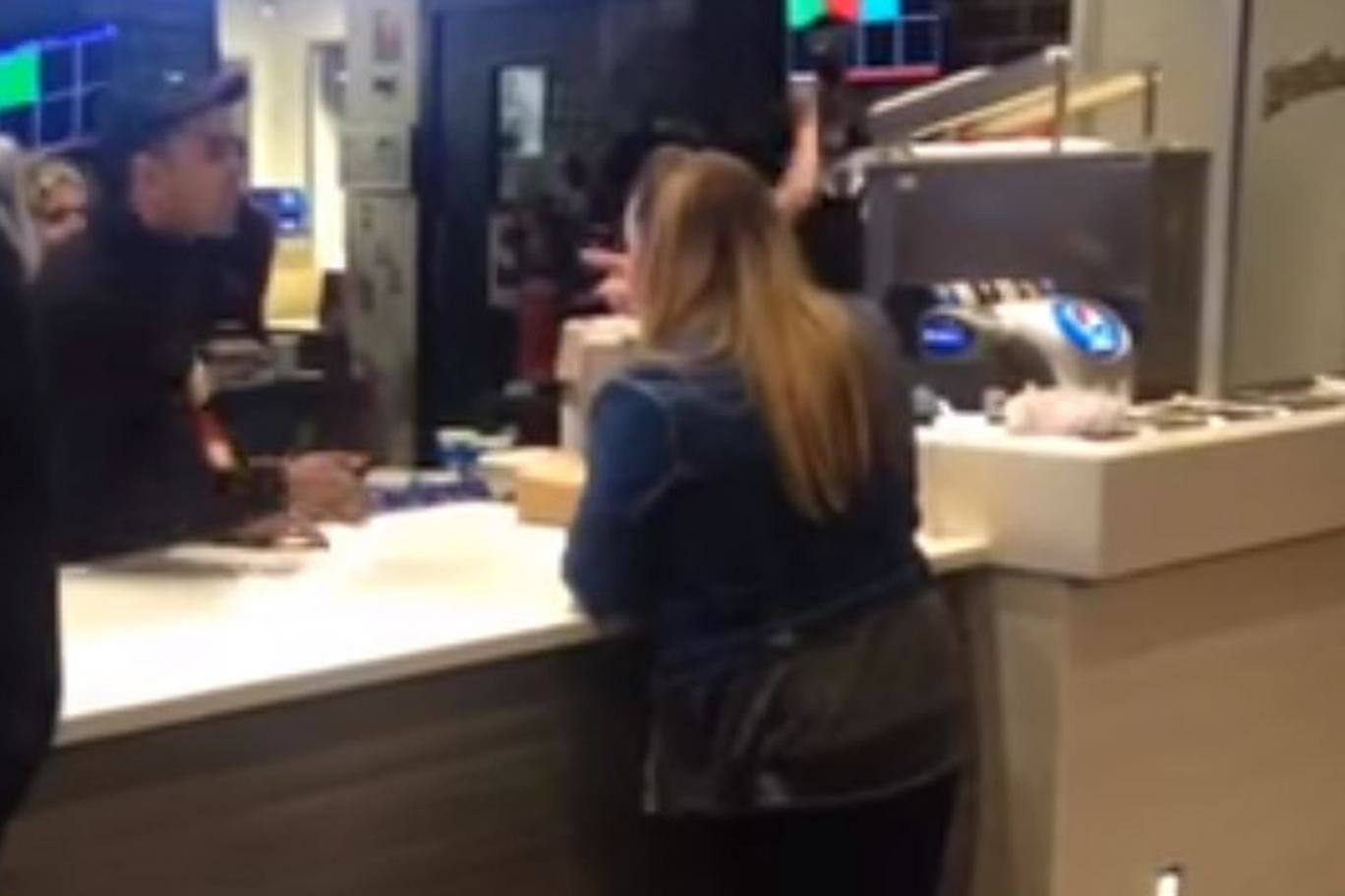 KFC Shocking Video Of Angry Woman Unleashing Racist Rant At KFC Goes Viral