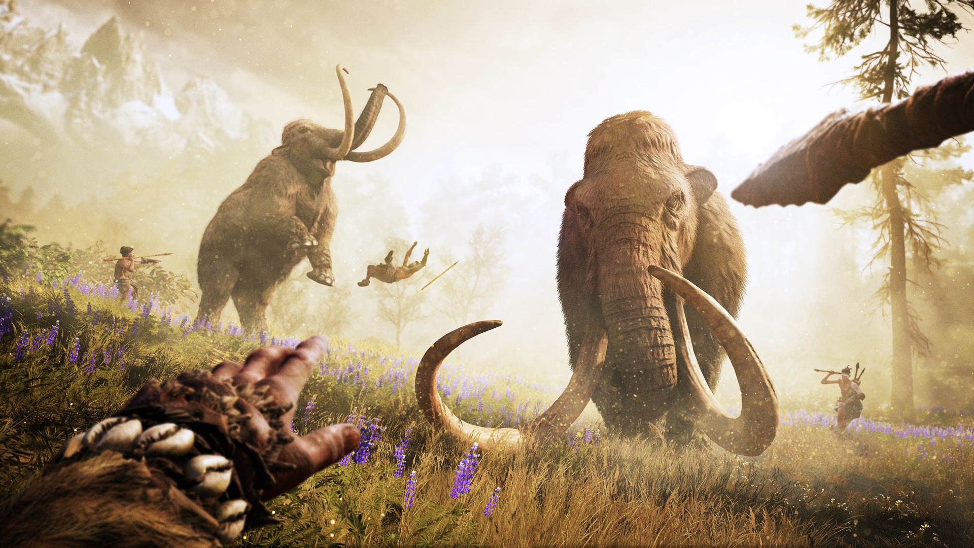Mammoth Hunt GOLD 1080p 221522 Ubisoft Show Off Far Cry Primal Trailer And Gameplay Walkthrough