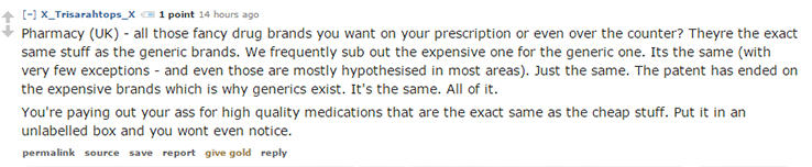 Pharmacy reddit Redditors Reveal The Dirty Little Secrets Businesses Dont Want You To Know