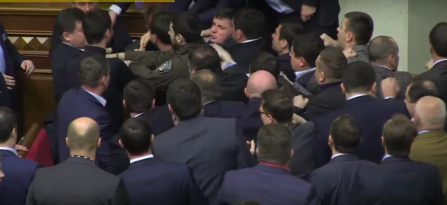 Screen Shot 2015 12 13 at 14.00.14 Politician Picks Up Ukrainian Prime Minister By Balls, Sparks Massive Fight In Parliament