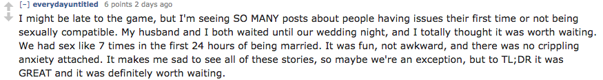 Screen Shot 2015 12 14 at 11.51.18 People Who Remained Virgins Before Marriage Reveal All About Their First Time