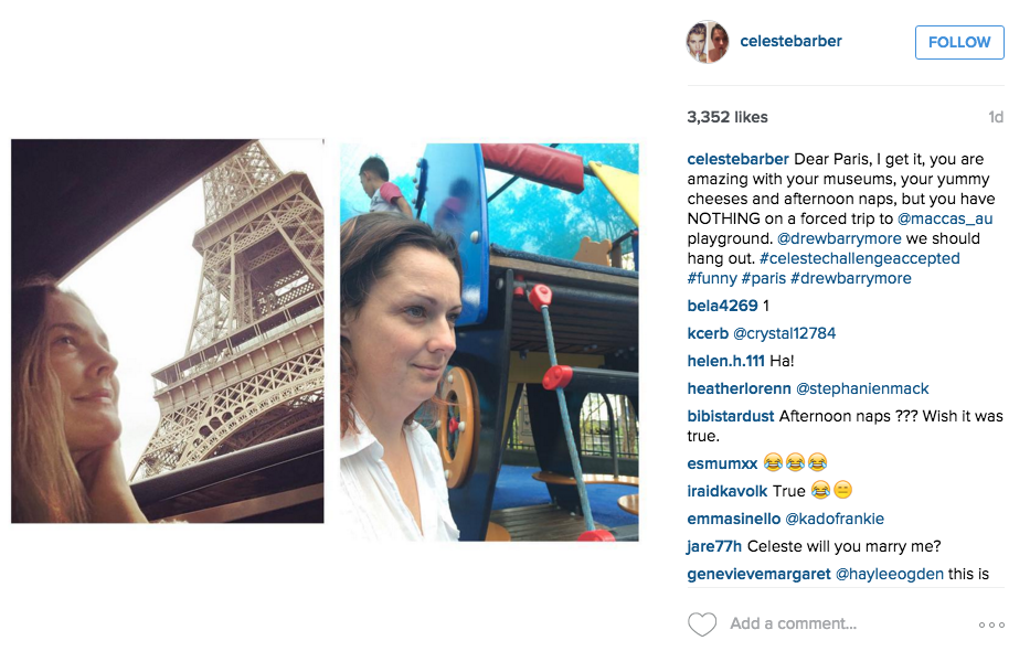 Screen Shot 2015 12 14 at 12.23.55 Australian Comedian Back With More Hilarious Instagram Photos Mocking Celebrities