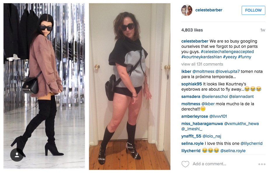 Screen Shot 2015 12 14 at 12.24.44 Australian Comedian Back With More Hilarious Instagram Photos Mocking Celebrities