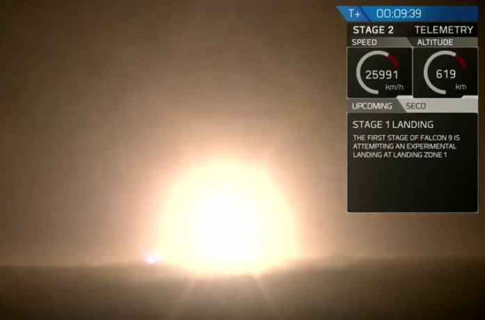Historic Landing Of SpaceXs Falcon 9 In Florida Screen Shot 2015 12 22 at 12.14.20 pm