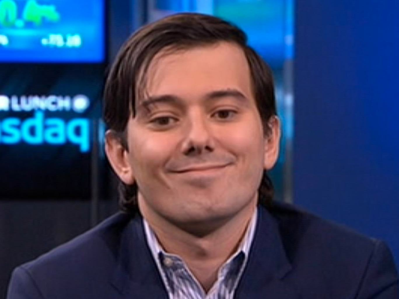 Shkreli 4 1 Most Hated Man On The Internet Probably Wont Be Driving Up Drug Prices Anymore