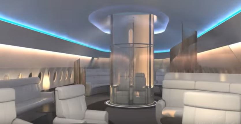 Sky deck 2 1 New First Class For The Ultra Rich Looks Amazingly Futuristic