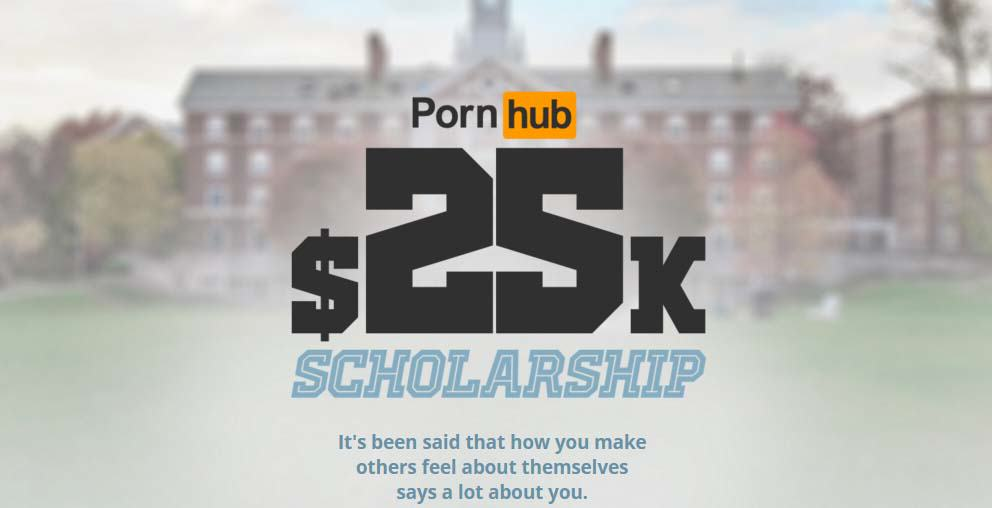 Untitled 1 5 Pornhub Gave Away A $25k Scholarship, And The Winner Is Fairly Surprising