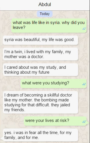abdul 31 Syrian Refugee Shares His Struggle To Reach Europe In Real Time Via WhatsApp