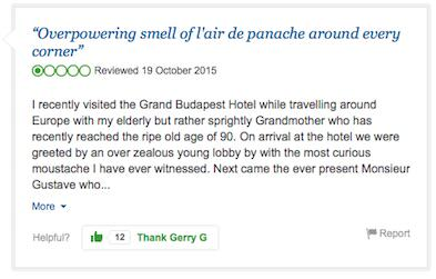 budapest9 A Fictional Hotel Is Being Reviewed On TripAdvisor