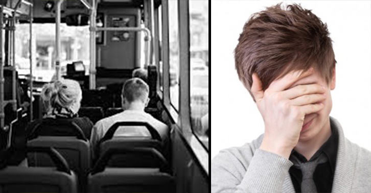 guy flirts with girl on bus A boiling geyser erupted, which caused steaming water to flow into a bus, after the vehicle hit a pipe that initiated the burst the driver of the bus was seven passengers were hospitalized and two women are currently in serious condition hosted by: gayle boy does this kid have a future shintara noble.