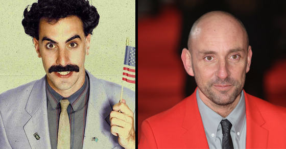 dan and borat 2 We Caught Up With The Co Creator of Ali G Indahouse, Borat & Bruno
