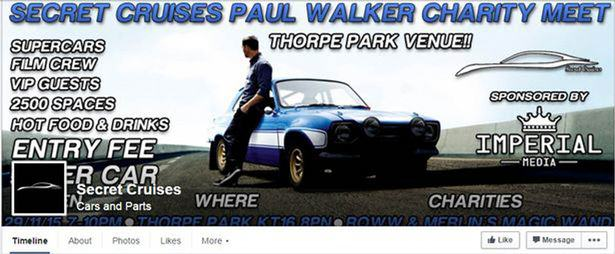 fb Paul Walker Charity Event Shut Down By Police After 1,700 Drivers Turn Up