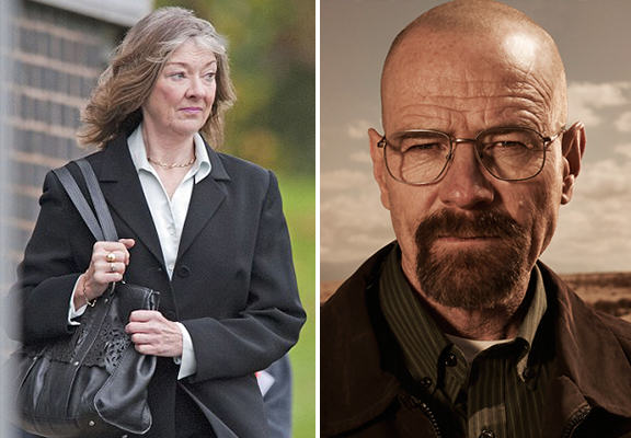 Female Walter White Chemistry Teacher Turned House Into Drugs Factory female walter white WEB