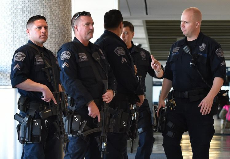 gettyimages 498754842 1 American Armed Guards Could Be Stationed At British Airports And Its Pretty Terrifying