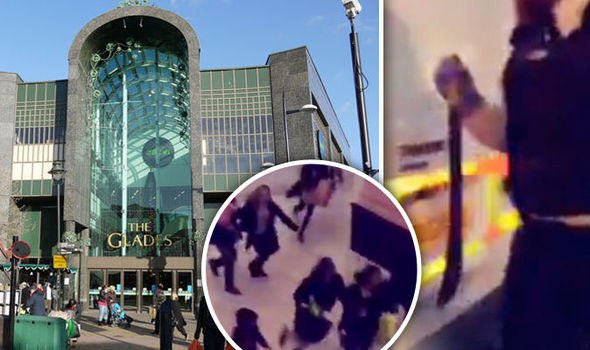 glades Terror Fears As Kent Shopping Centre Evacuated After Machete Attack