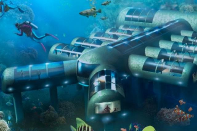 This Incredible Underwater Hotel Has Received Patent Approval