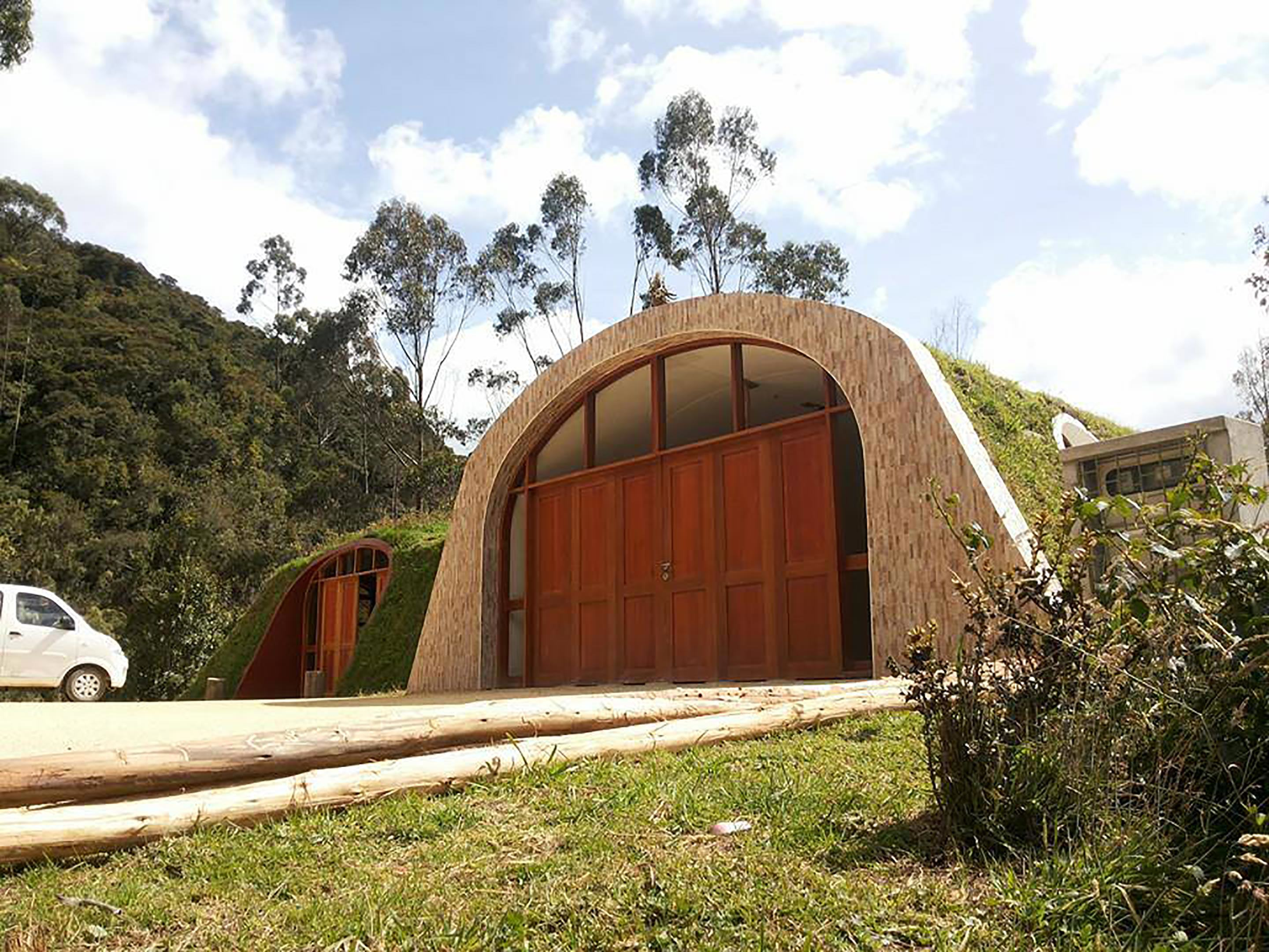 house 1 Company Builds Hobbit Houses And You Can Actually Live There