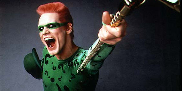 jim carrey 68719 Police Hunting Wannabe Riddler Burning Down Buildings And Taunting Them