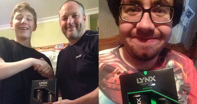 ln5 Yep, Every Single Male Got Lynx Africa For Christmas Again