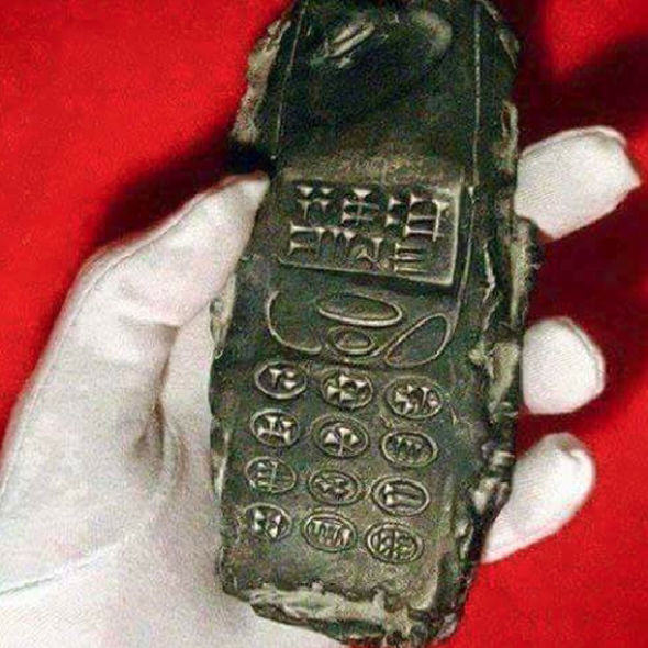 Does This 800 Year Old Phone Prove Time Travel Is Real? oldphone1