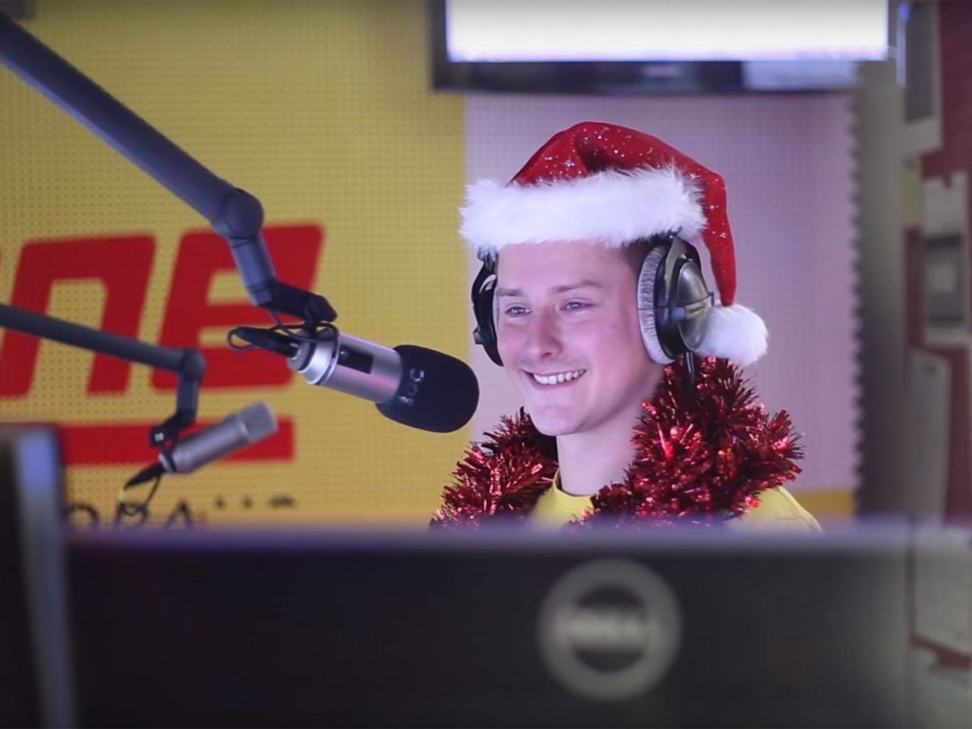 Radio DJ Barricades Himself In Studio, Plays Last Christmas 24 Times In Row radio dj last christmas Antenne KarntenYouTube