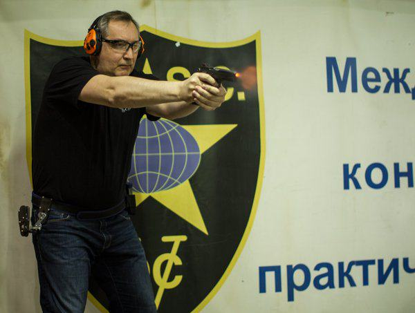 Russian Deputy PM Shoots Himself In The Foot After Tweeting Support For NRA rogozin firing range