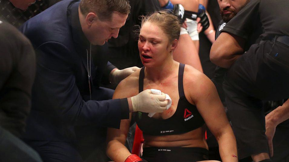 Rousey Interviewed About Her Loss To Holm And Her Future rousey1