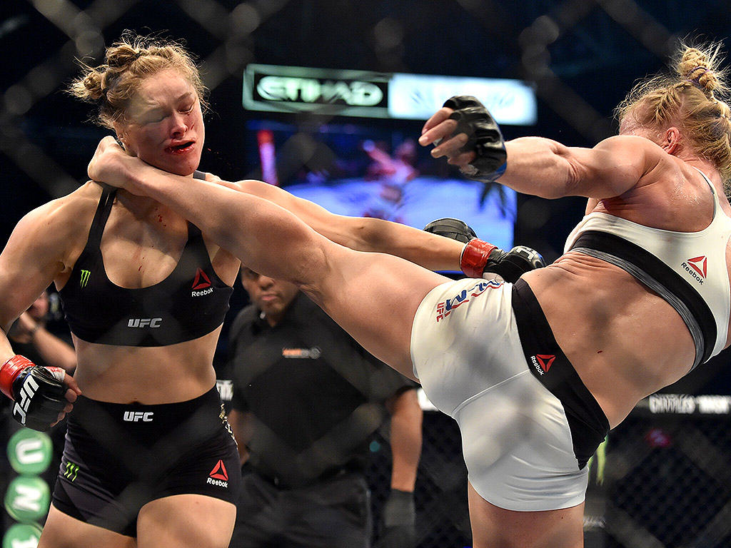 Rousey Interviewed About Her Loss To Holm And Her Future rousey2