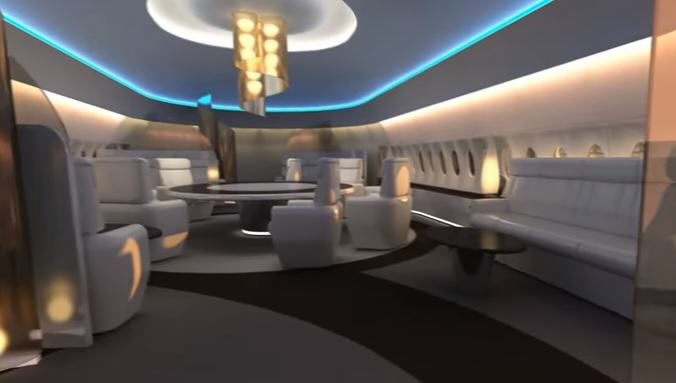 sky deck 9 New First Class For The Ultra Rich Looks Amazingly Futuristic